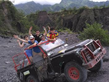 LAVA TOUR MERAPI MOUNT with JEEP